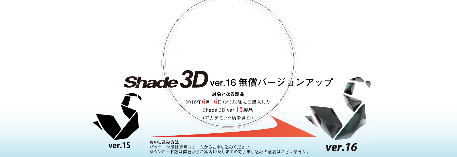 Shade3D ver.16 free update