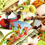 2重奏©sisioumaru